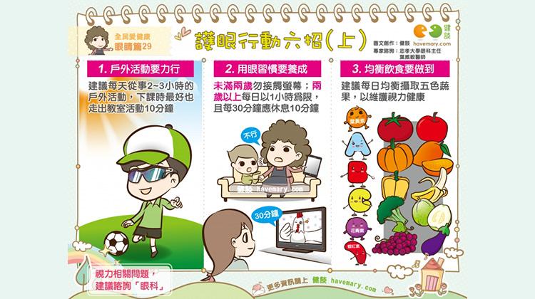 護眼行動六招(上)|全民愛健康 眼睛篇29