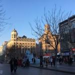 隆冬時節的中華巴羅克風情街