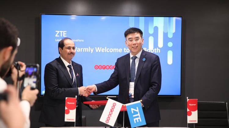 中興通訊與Ooredoo集團合作共推中東北非5G商用