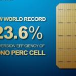 23.6%,隆基樂葉單晶PERC電池效率再創世界紀錄新高