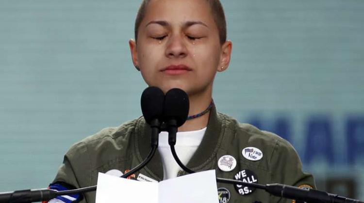「為生命而走」大遊行》美國新世代拒絕再當槍枝暴力受害者 11歲黑人女孩發言震撼全美