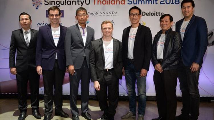 2018奇點大學泰國峰會首度將全球頂尖創新科技雲集東南亞