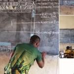 缺乏資源地區的黑板電腦課