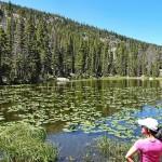 美國洛磯山國家公園山中之湖
