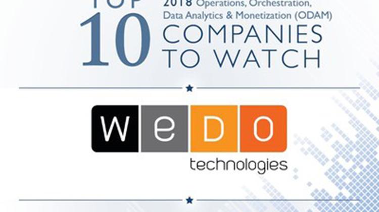 WeDo Technologies入選Stratecast 2018年最值得期待公司前十強