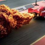 真的很會的熱辣炸雞廣告