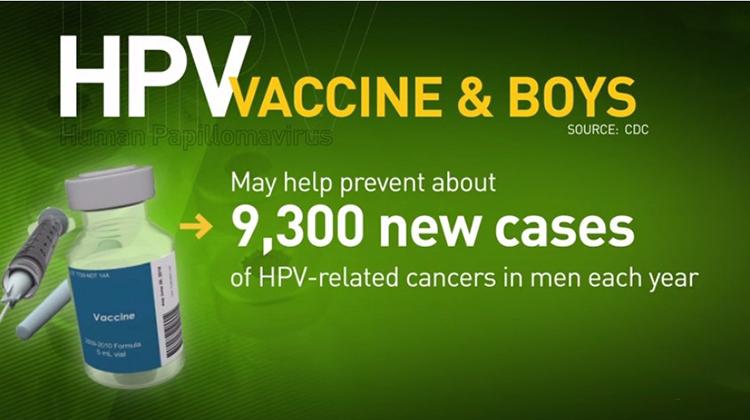 HPV疫苗可預防宮頸癌