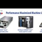 美超微在GPU 技術大會展示新款可升級人工智能和機械學習系統