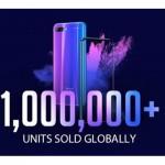 榮耀10全球銷量超過100萬台