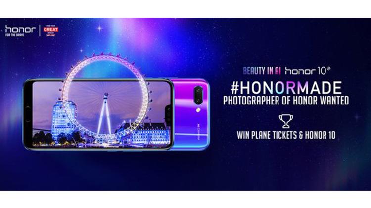 榮耀和英國旅遊局推出全球攝影比賽「AIMAZING Journey」