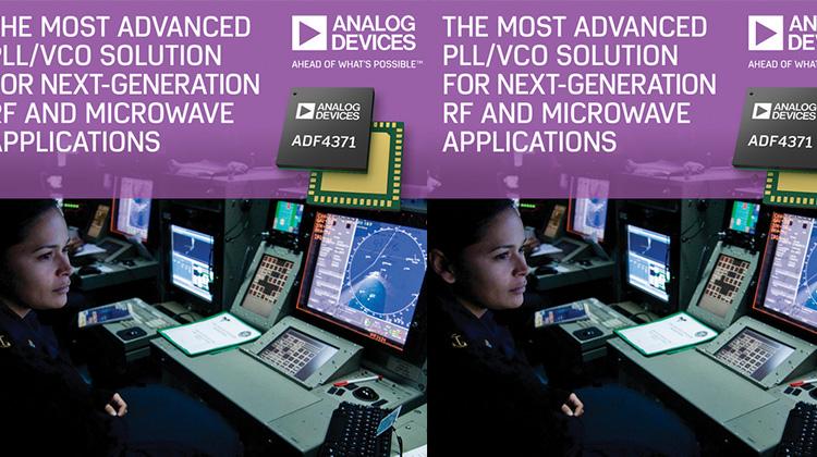 ADI針對下一代射頻、微波和毫米波應用推出PLL/VCO解決方案