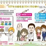 107年流感疫苗10月15日開打|認識疾病 流感篇14