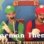 《超級馬利歐兄弟》化身口風琴兄弟吹奏出關卡配樂