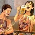 吸煙飲酒會造成青少年動脈受損