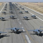 "F-35A首次""大象漫步""測試"