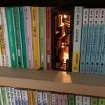 書架中的小天地-創意木製書擋