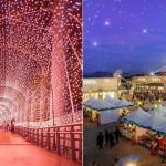【彷彿在星空中散步】夢幻星橋、飄雪市集…… 特搜全台 4 大「聖誕燈景」,享受濃厚聖誕氣息
