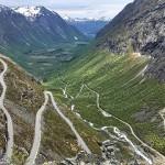 九彎十八拐:挪威的老鷹之路