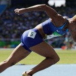 懷孕錯了嗎?女短跑名將險遭知名廠商怒退贊助,她挺肚為女運動員發聲