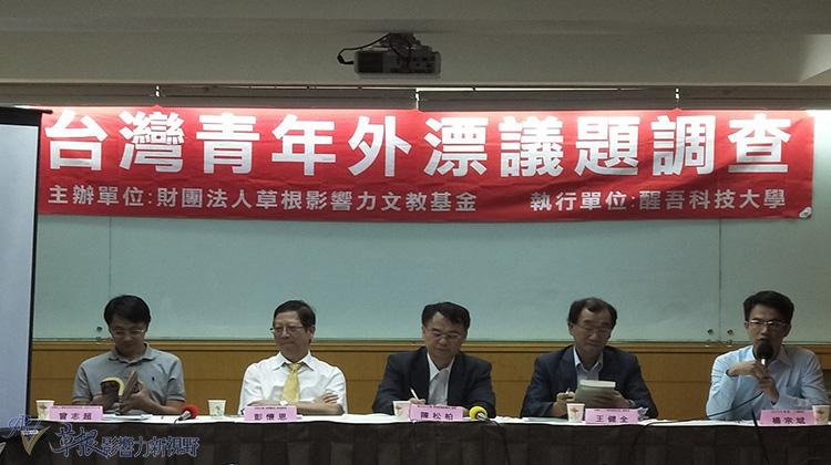 台灣青年外漂議題調查