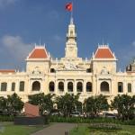 越南縱遊(二)  胡志明市政廳