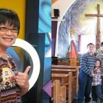 乩童米卦見發光十架,勸母支持她念神學院 確診卵巢不全,婚後七年受孕得二子