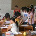 中國過勞孩童