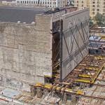 89年老劇院擴建工程 包括平移一面625噸重磚牆