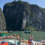 越南縱遊(三六)  下龍灣鬥雞石與天堂島
