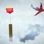 飛上高空偵測颱風