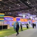 2019年中東迪拜電子通信展使用逾1000平米的艾比森LED