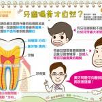 牙齒偏黃才自然?