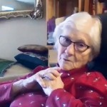 90歲新冠肺炎患者19天後得醫治 伍德老奶奶:我不孤單,因為祂與我同在