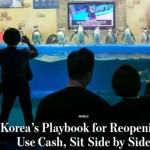 【櫃姐忙翻!民眾戴著口罩也要試妝】南韓一解禁,百貨公司馬上人擠人
