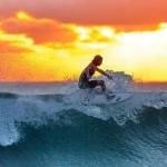 衝浪有益身心健康