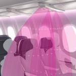 機艙內的空氣隱形防護罩