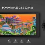 繪王新品Kamvas 22&Kamvas 22 Plus數位屏正式發布