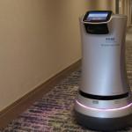 機器人Rosé為飯店執行防疫客房服務