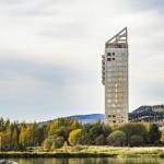 木頭高樓大廈在流行