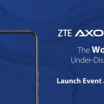 中興將於2020年9月1日發佈全球首款屏下攝像5G智能手機