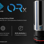 使用OTSAW UV-C LED消毒防疫機器人成功檢測首個活的冠狀病毒樣本