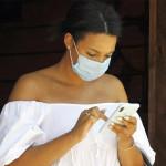 口罩帶給臉部辨識技術難題