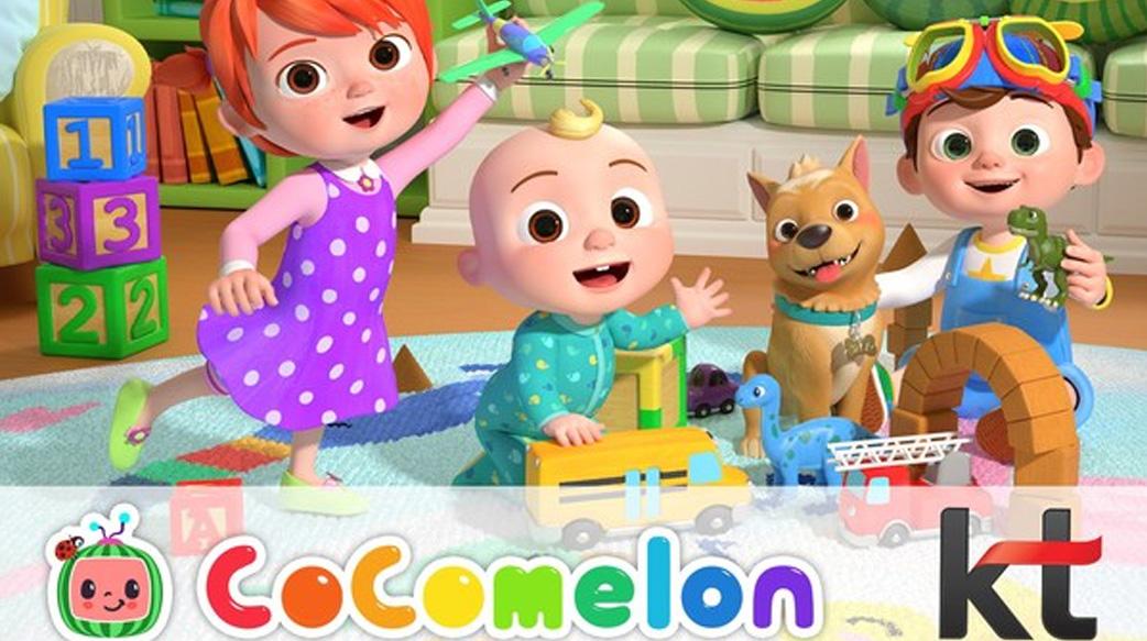 Moonbug 與 KT 合作將 Global Sensation CoComelon 帶入韓國境內家庭