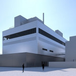 Merck 慶祝新膜製造廠房的平頂儀式