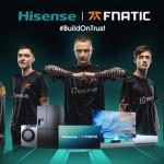 海信成為Fnatic電競俱樂部全球合作夥伴!
