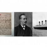 沉船前持續傳講永生盼望感動世人 鐵達尼號殉難牧師親筆信拍賣