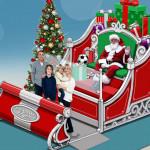今年新招,與聖誕老人視訊!