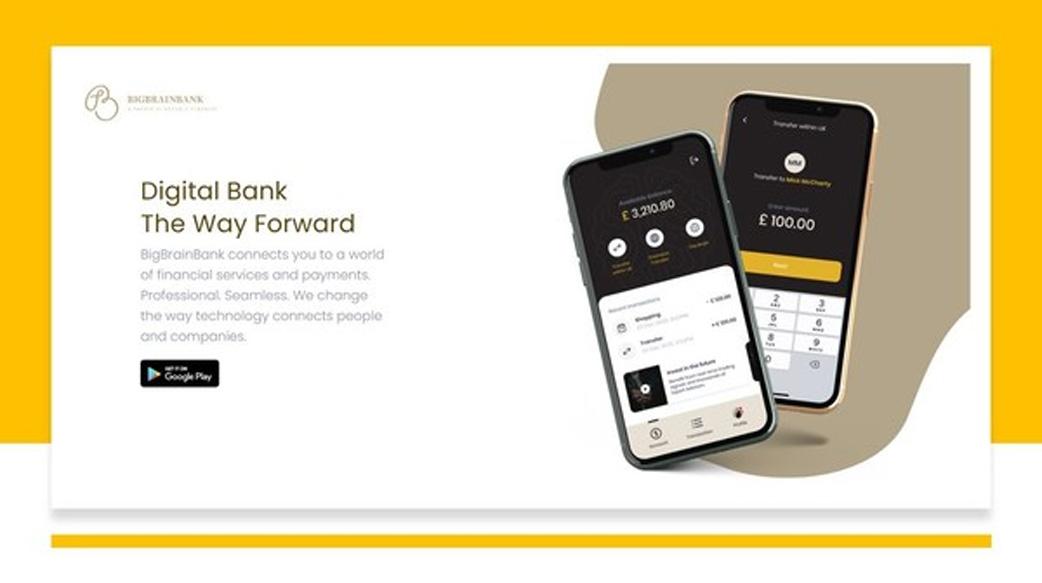 BigBrainBank數字銀行計劃顛覆金融券商交易生態