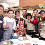 年菜廚藝交流、補助營養品 士林扶輪社陪罕病家屬暖心迎新春