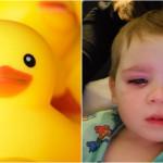 黃色小鴨陪兒子洗澡,竟害他差點失明!替孩子選購玩具「這關鍵」一定要注意!